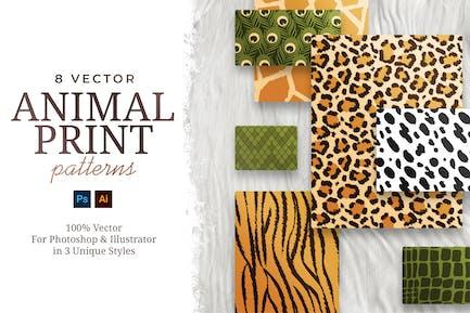 Vector Animal Print Patterns