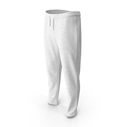 Mens Sport Pants White