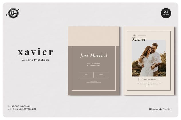 XAVIER Wedding Photobook