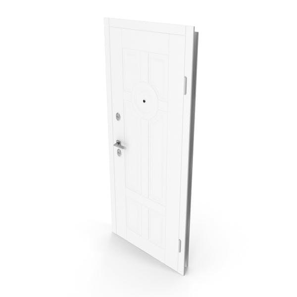 Entrance Door White