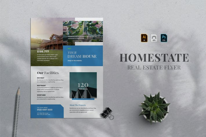 Thumbnail for Real Estate Flyer 02