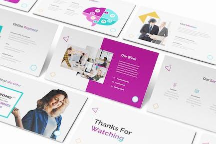 Business Network Keynote Template