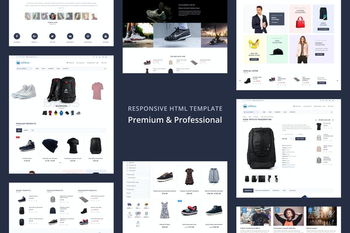 AllStore - MultiConcept eCommerce Shop Template