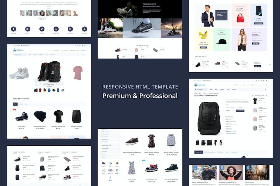 AllStore - MultiConcept eCommerce Shop Template