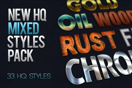 33x HQ Mixed Styles Pack