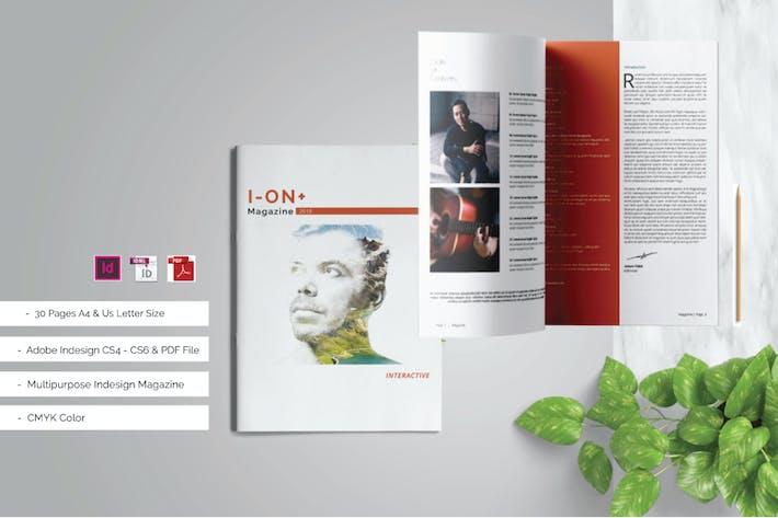 Thumbnail for ION+ Magazine