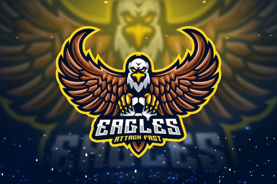 Eagle Attack Esport Logo - Gudtemp