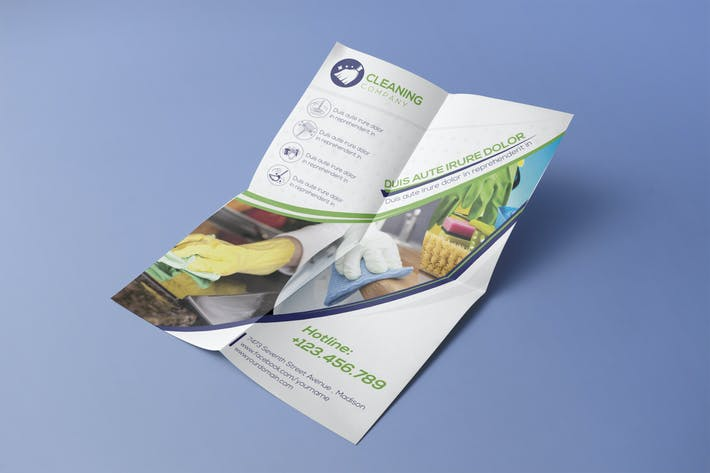 Thumbnail for Cleaning Company - Flyer Template