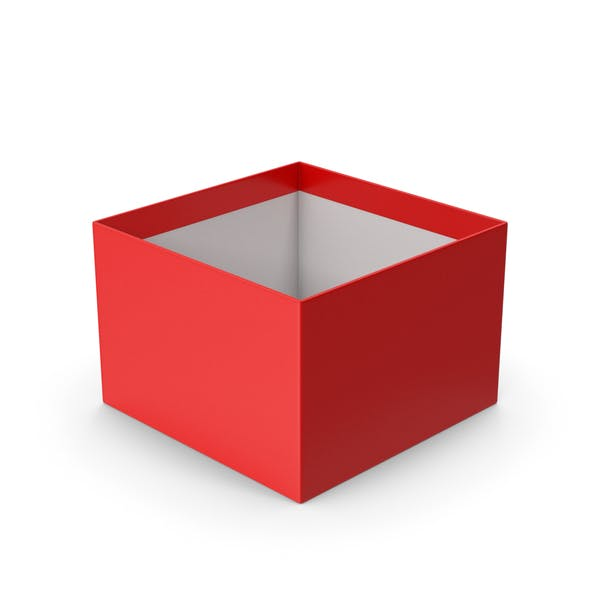 Коробка Красная без колпачка