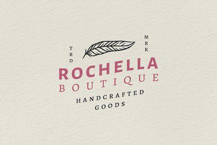 Logo Insigne Vintage - Rochella Boutique