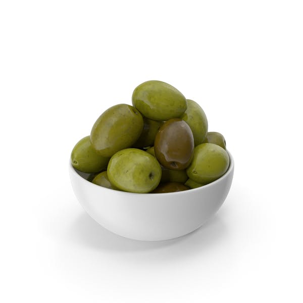 Bowl Of Olives Green