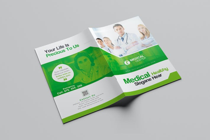 medical brochure template by designsoul14 on envato elements