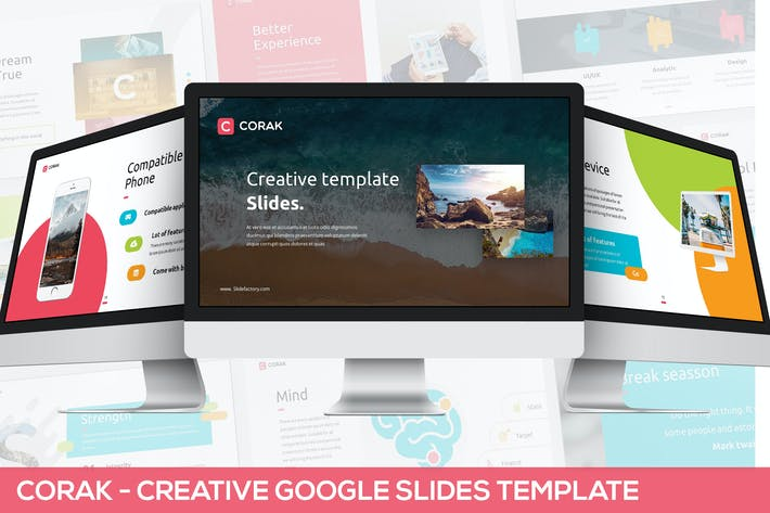 Thumbnail for Corak - Creative Google Slides Template