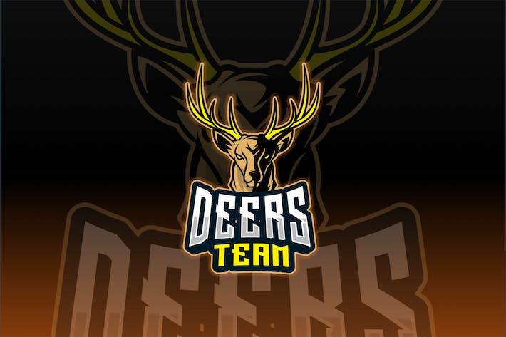 Thumbnail for Deers Sport and Esport Logo Template