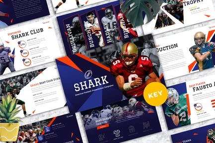 Shark - American Football Keynote Templates