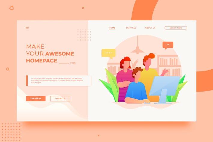 Thumbnail for SRTP - Teamwork Banner Homepage.01