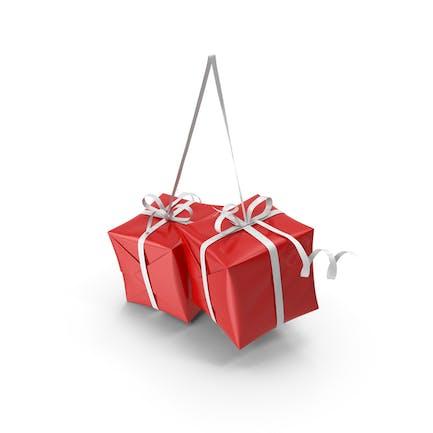 Decoración de regalos de Navidad