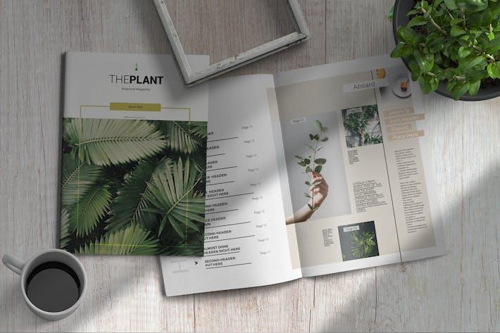 Thumbnail for Theplant | Magazine Template