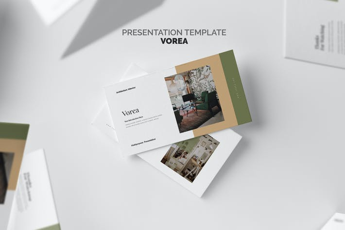 Thumbnail for Vorea Home Decor & Interior Business Google Slides