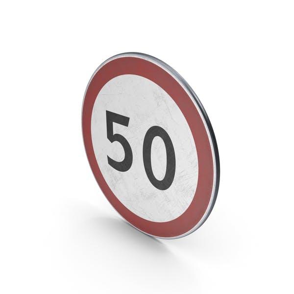 Максимальная скорость дорожного знака