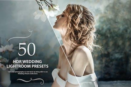 50 HDR свадебных Пресеты Lightroom