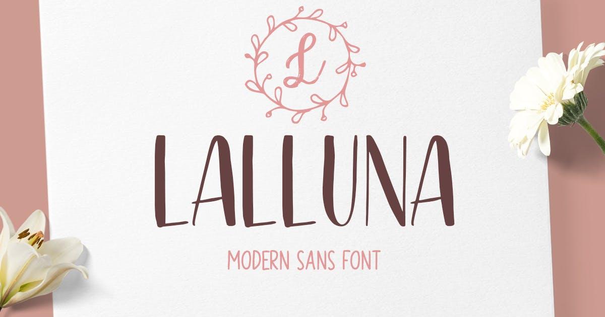 Download Lalluna Sans by letterhend