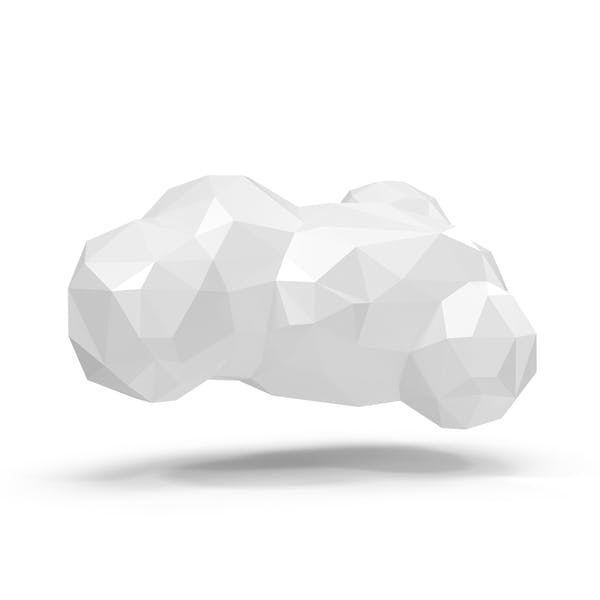 Low Poly Cloud