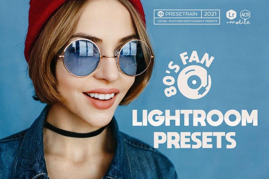 80's Fan - Retro Lightroom Presets