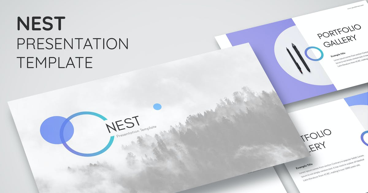 Download Nest - Keynote Presentation Template by Shakersign