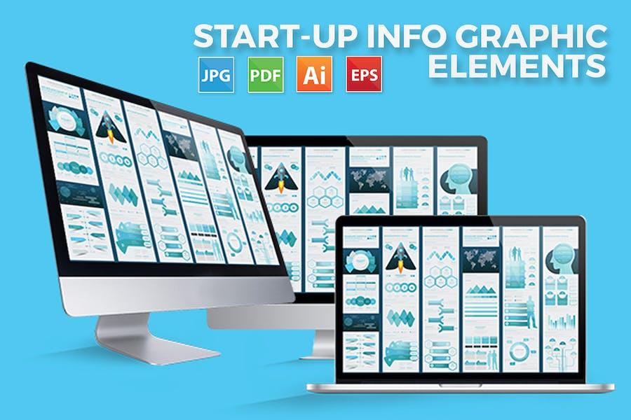 Business - Start Up Infographic Design