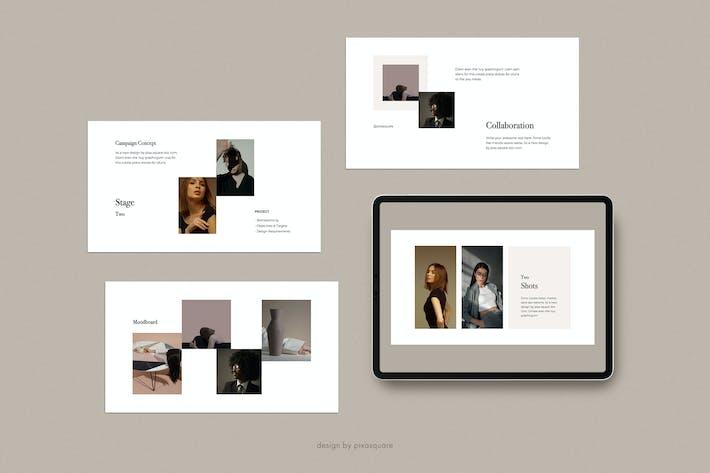Thumbnail for DONA - Media/Press Kit Powerpoint Template