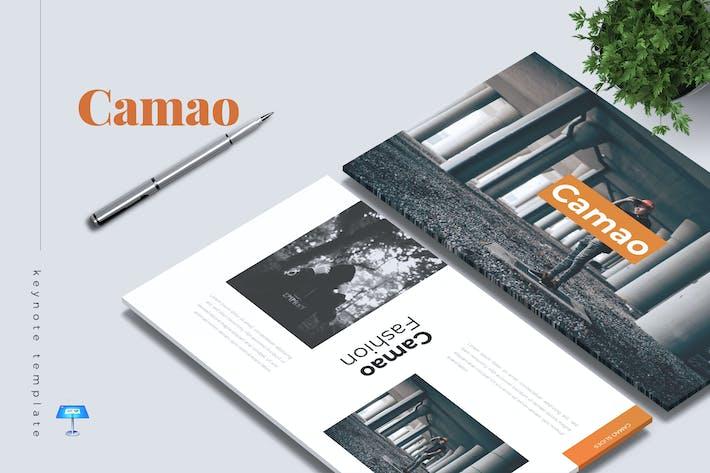 Thumbnail for CAMAO - Fashion Keynote Template
