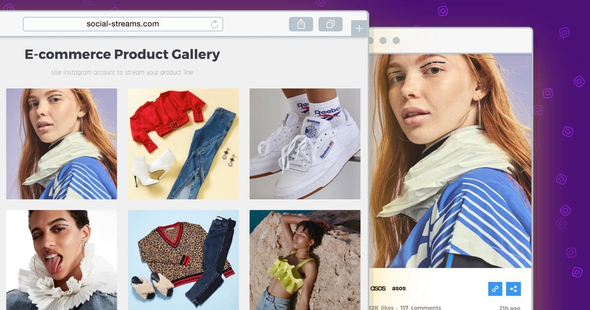 Download Instagram Feed Gallery — Grace for WordPress by looks_awesome