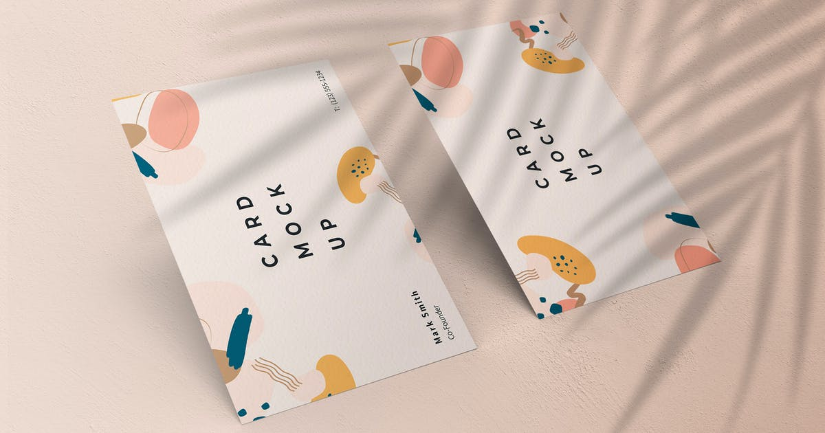 Download Realistic Business Card Mockup PSD Template by ExplicitConcepts