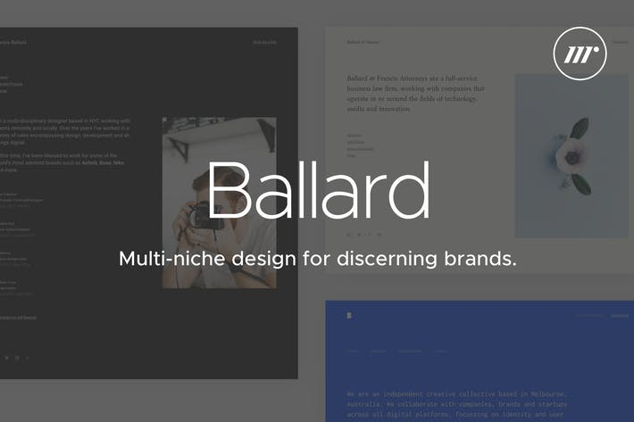 Thumbnail for Ballard | CV, Agency, Law & Restaurant Template