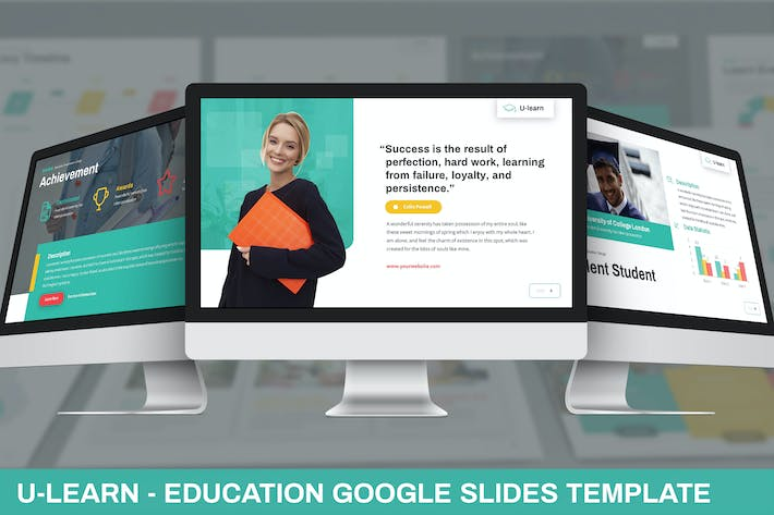 Thumbnail for U-Learn - Education Google Slides Template