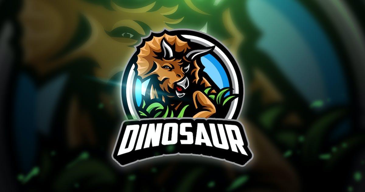 Dinosaur - Mascot & Esport Logo by aqrstudio
