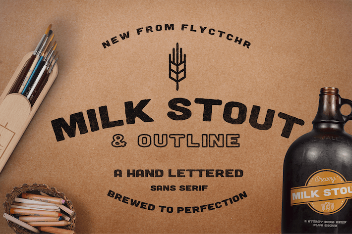 Thumbnail for Milk Stout Font