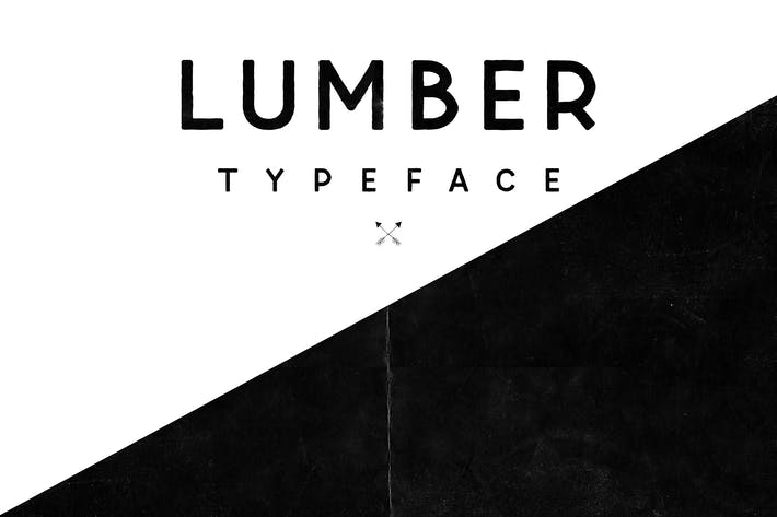 Cover Image For Lumber Typeface