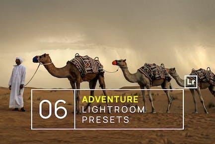 6 Adventure & Travel Lightroom Presets