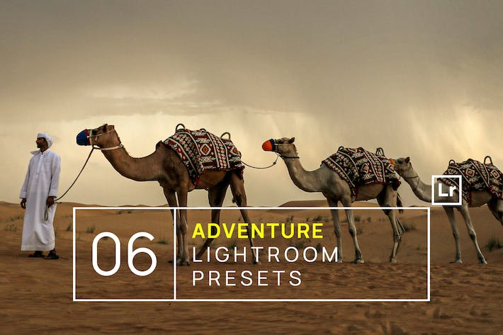 Thumbnail for 6 Adventure & Travel Lightroom Presets