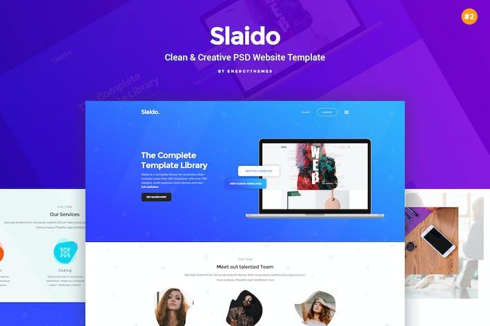 Thumbnail for Slaido Websites - #2