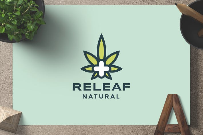 Thumbnail for Releaf — Logo Template