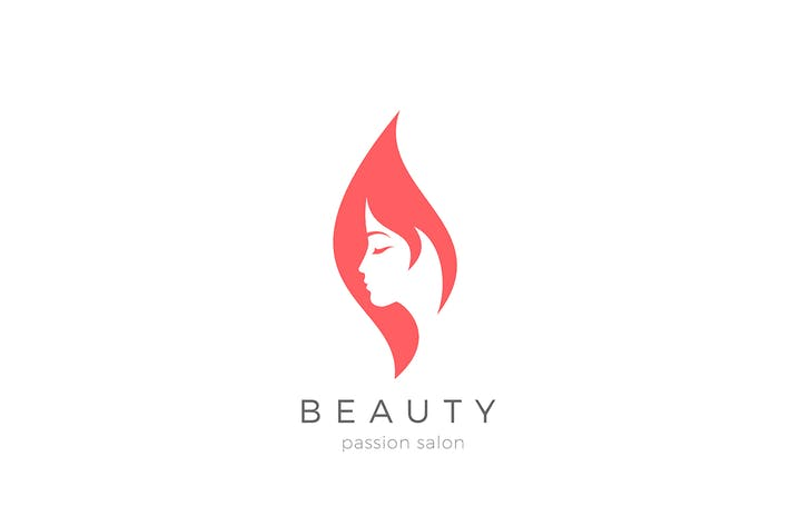 Thumbnail for Woman Girl Logo Beauty Fashion Cosmetics