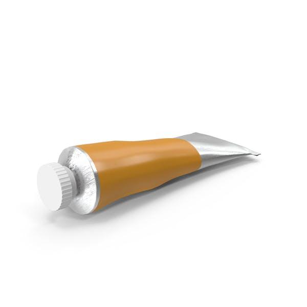 Thumbnail for Orange Oil Paint Tube