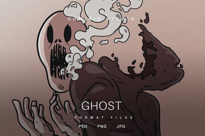 Thumbnail for Ghost Illustration