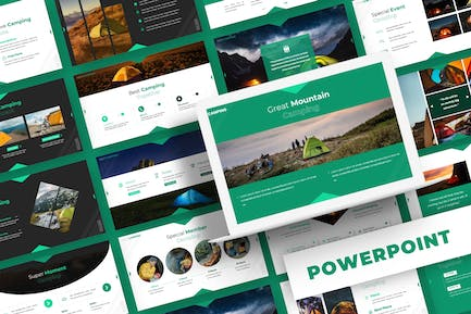 Camping - Powerpoint Template