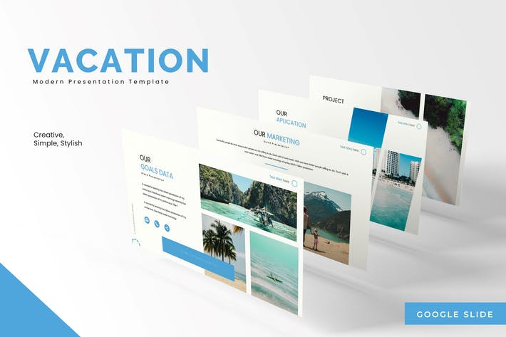 Thumbnail for Vacation - Google Slides Template