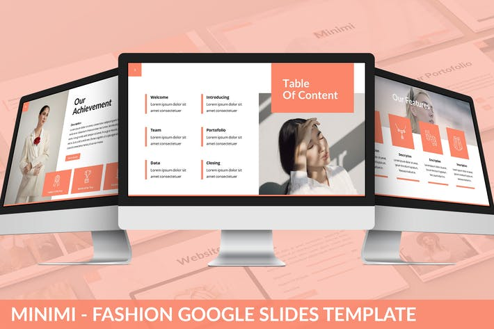 Minimi - Fashion Google Slides Template