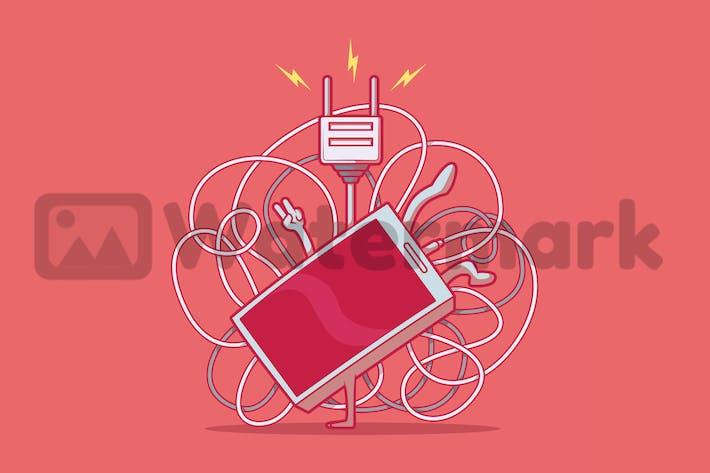 Break Dancing Phone